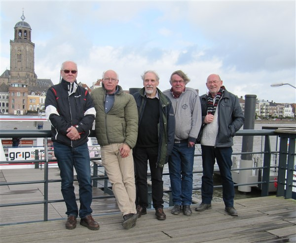 The Valiant Fighters op de Worp in Deventer